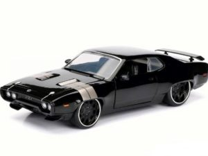 """Dom's Plymouth GTX Coupe """"Fast And Furious 8"""" 1971 Black"""