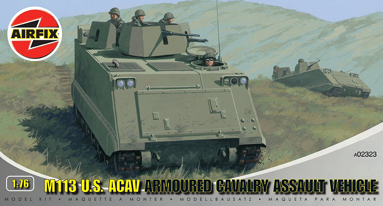 M113 U.S. ACAV Military Vehicles 1/76