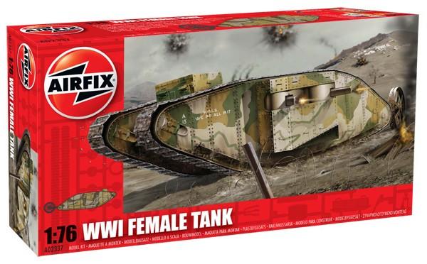 WWI Female Tank 1/76