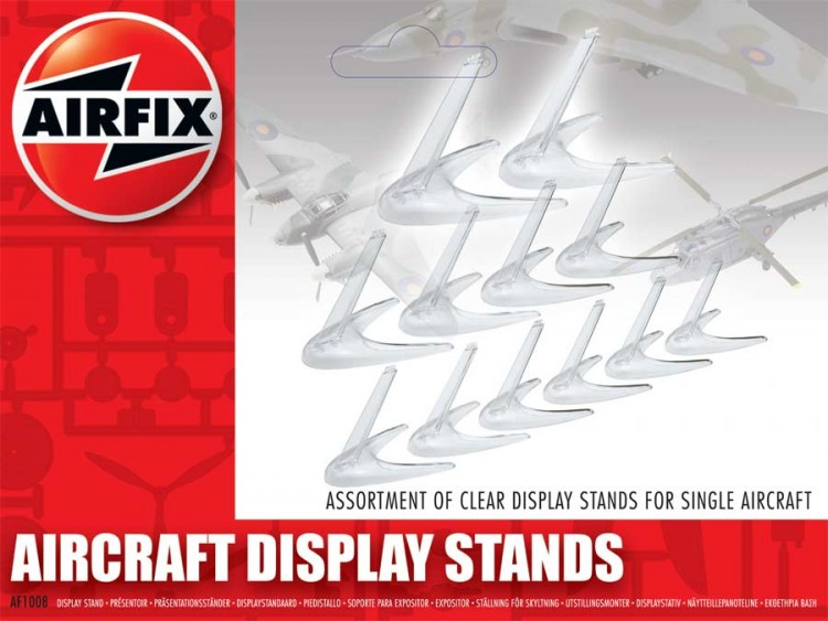 Aircraft Display Stand Assortment 1/72