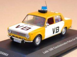 VAZ 2101 Lada 1200 Czechoslovakia Police Car 1978