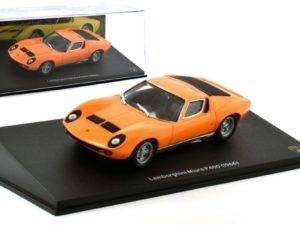 LAMBORGHINI Miura P400 1966 Orange