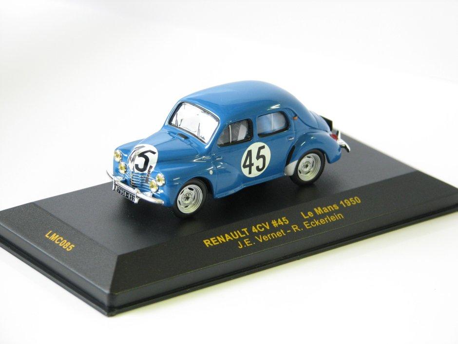 Renault 4CV #45 J.E.Vernet-R.Eckerlein Le Mans 1950