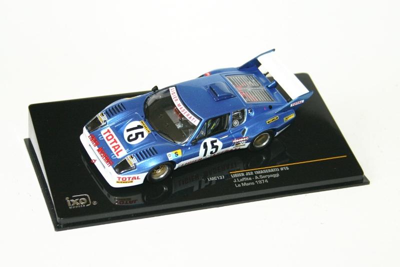 LIGIER JS2 (MASERATI) #15 J.Laffite-A.Serpaggi Le Mans 1974