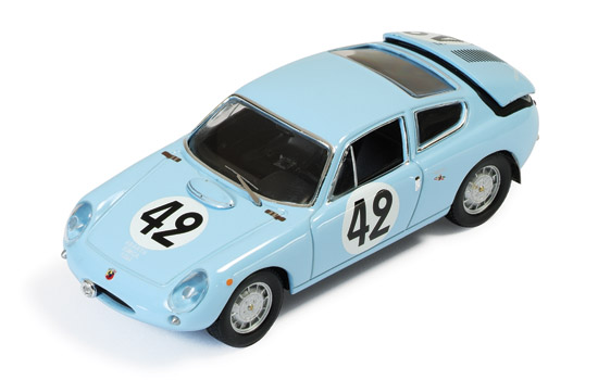 SIMCA Abarth 1300 #42 H.Oreiller-T.Spychiger Le Mans 1962