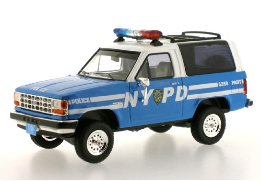 FORD USA BRONCO II NYPD POLICE 1990