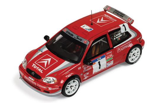 Citroen Saxo S1600 Kit Car #1 A.Araujo – M.Ramalho Winner Rally Portugal 2004