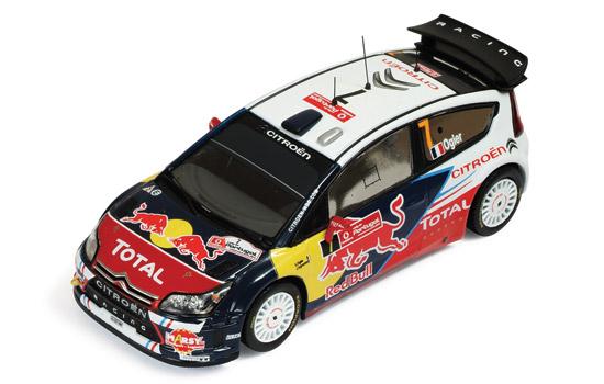 CITROEN C4 WRC #7 S. Ogier – J. Ingrassia Winner Vodafone Rally Portugal 2010