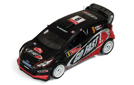 FORD FIESTA RS WRC #9 M.Wilson/S.Martin Rally Monte Carlo 2012