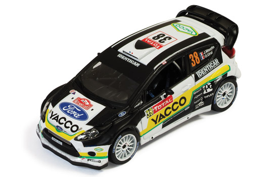 FORD FIESTA RS WRC #38 J.MAURIN-O.URAL Rally Monte Carlo 2012