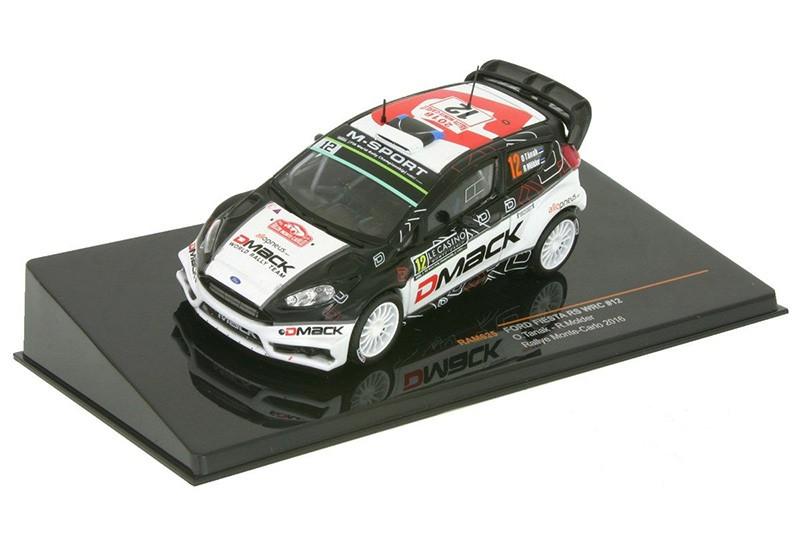 Ford Fiest RS WRC #12 Ott Tänak Monte Carlo 2016