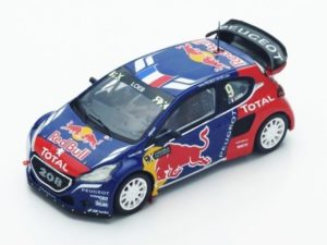 Peugeot 208 WRX n.9 Winner World RX of Latvia 2016 S.Loeb
