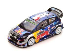 FORD Fiesta WRC N°1 M-Sport Winner Monte Carlo 2017 S.Ogier-J.Ingrassia