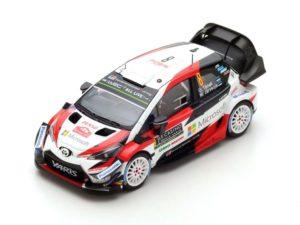 NB! MÜÜDUD! TOYOTA Yaris WRC N°8 2nd Rally Monte Carlo 2018 O. Tänak – M. Järveoja