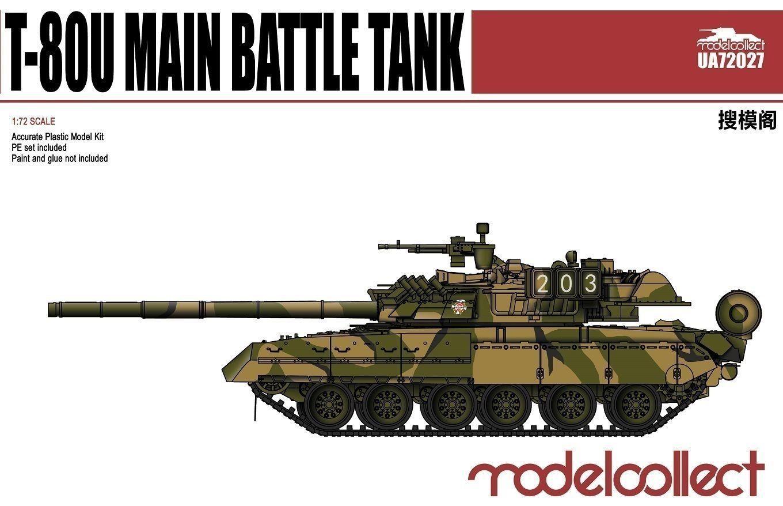 Russian T-80U Main Battle Tank