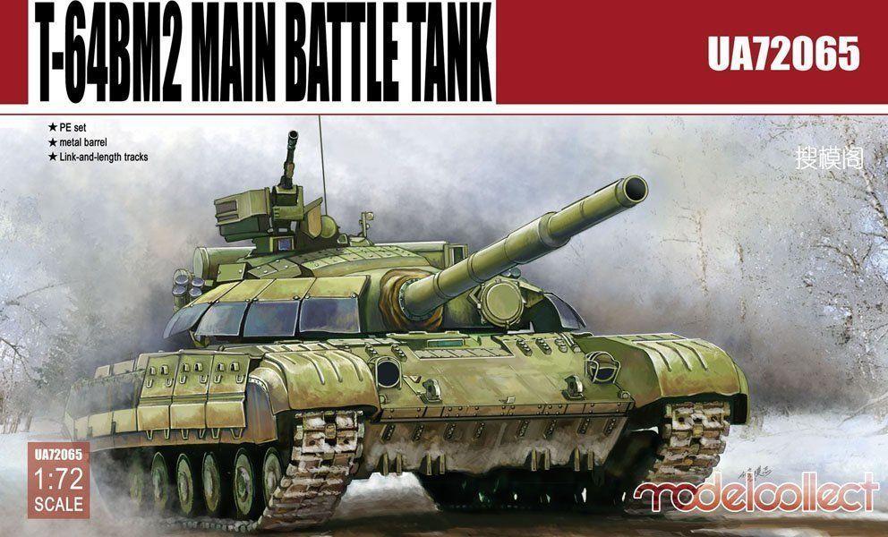 Russian T-64BM2 Main Battle Tank