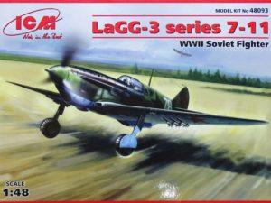 1/48 WWII Soviet Fighter LaGG-3 Series 7-11