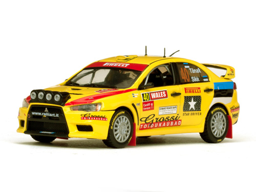 2 viimased!!! Mitsubishi LANCER EVOLUTION X #40 WINNER PWRC RALLY GREAT BRITAIN 2010 O.TÄNAK – K.SIKK