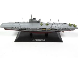 British Illustrious Aircraft Carrier 1940