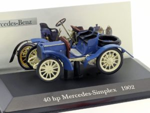 Mercedes Benz 40 hp MERCEDES-SIMPLEX 1902 Blue