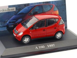 Mercedes Benz A 160 (W 168) 1997 Red
