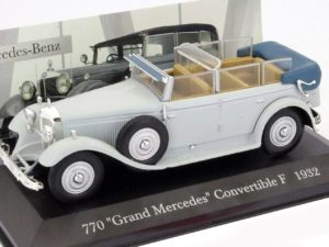 Mercedes Benz 770 GRAND MERCEDES CONVERTIBLE F 1932 Grey