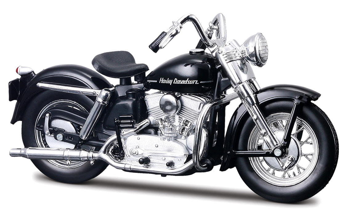 HARLEY-DAVIDSON K MODEL 1952 BLACK MET