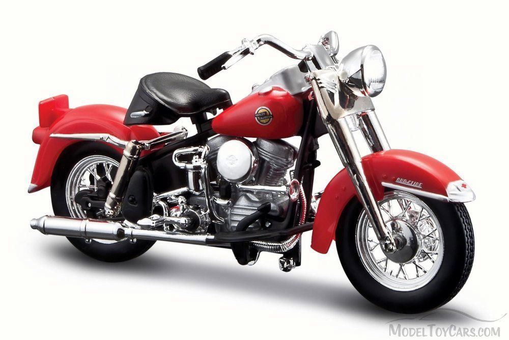 HARLEY-DAVIDSON FLH DUO GLIDE 1958 RED