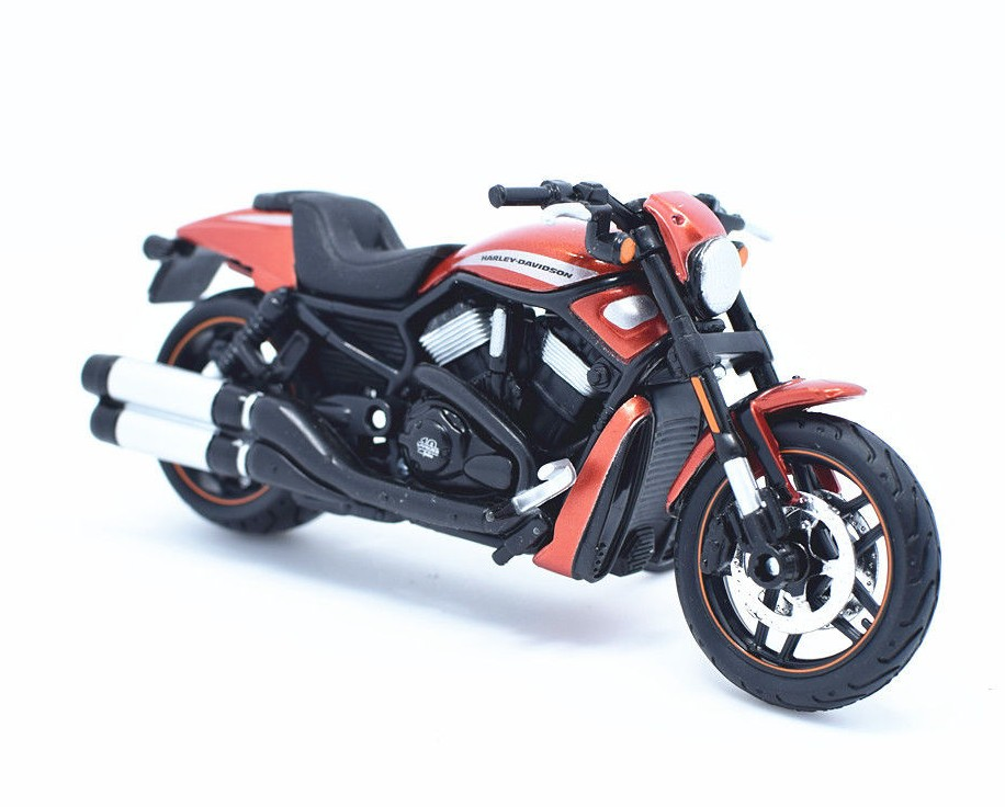 HARLEY-DAVIDSON VRSCDX NIGHT ROD SPECIAL 2012 ORANGE/BLACK
