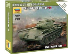 Soviet Medium Tank T-44 1/100