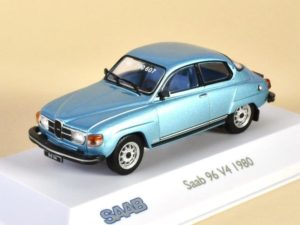 Saab 96 V4 Light Blue Metallic 1980