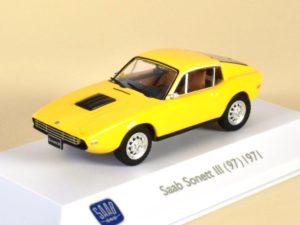 Saab Sonett III 97 Yellow 1971