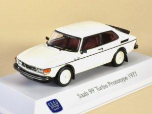 Saab 99 Turbo Prototype White 1977