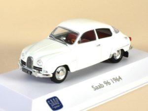 Saab 96 White 1964