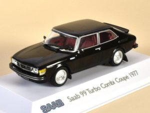 Saab 99 Turbo Combi Coupe Black 1977