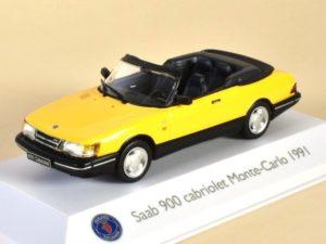 Saab 900 Cabriolet Monte-Carlo Yellow 1991