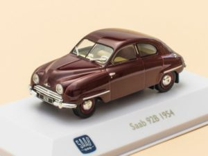 Saab 92B Dark Red 1954
