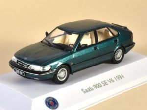Saab 900 SE V6 Green Metallic 1994