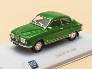 Saab 96 V4 Green 1969