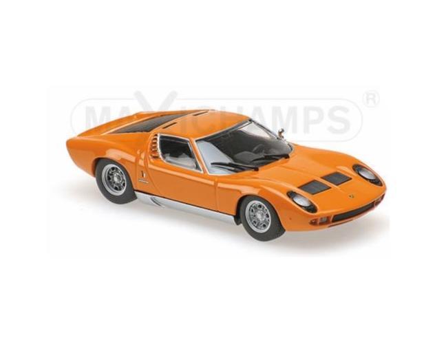 Lamborghini Miura 1966 Orange Mudelautod Ee