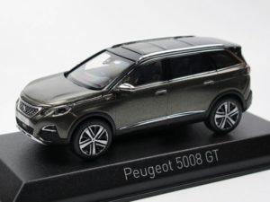 PEUGEOT 5008 GT 2016 Amazonite Grey