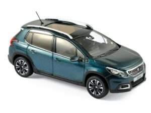 PEUGEOT 2008 2016 Metallic Dark Green