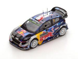 Ford Fiesta WRC n.1 Winner Rally Monte Carlo 2017 S. Ogier – J. Ingrassia