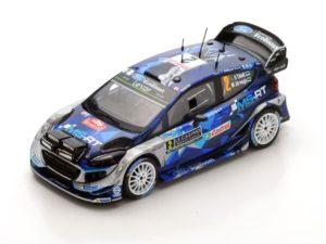 Ford Fiesta WRC n.2 3rd Rally Monte Carlo 2017 O. Tänak – M. Järveola