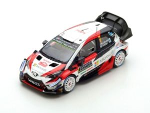 TOYOTA Yaris WRC No.7 3rd Rally Monte Carlo 2018 J-M.Latvala – M.Anttila