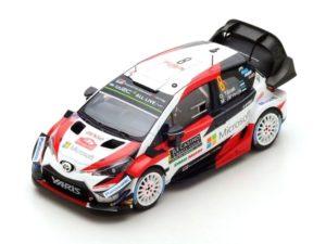 TOYOTA Yaris WRC N°8 2nd Rally Monte Carlo 2018 O. Tänak – M. Järveoja