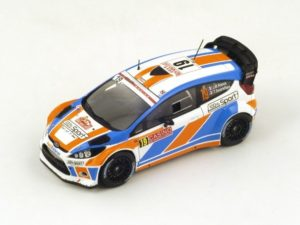 Ford Fiesta WRC No.19 20th Monte Carlo 2015 J. Raoux – T. Escartefigue