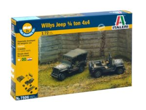 Willys Jeep 1/4 Ton 4×4 (2 FAST ASSEMBLY MODELS)