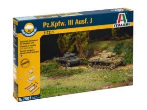 Pz.Kpfw.III Ausf.J (2 FAST ASSEMBLY MODELS)