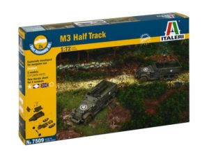 M3 HALF TRACK (2 FAST ASSEMBLY MODELS)